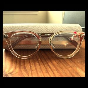 Jimmy choo clear lenses glasses